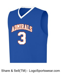 YAH LIFE Inc. - Gulfport High Admirals 3(Cole) Design Zoom