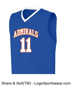 YAH LIFE Inc. - Gulfport High Admirals 11(McBride) Design Zoom